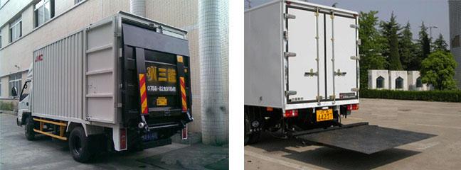 4.2米厢式起重尾板货车(主要用于设备及超重物品的起重及迁移)